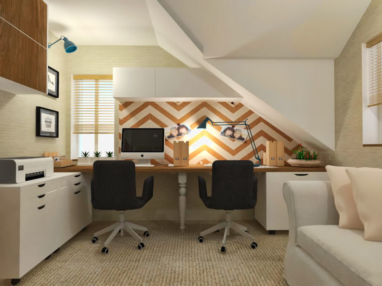 black fox interiors home office design
