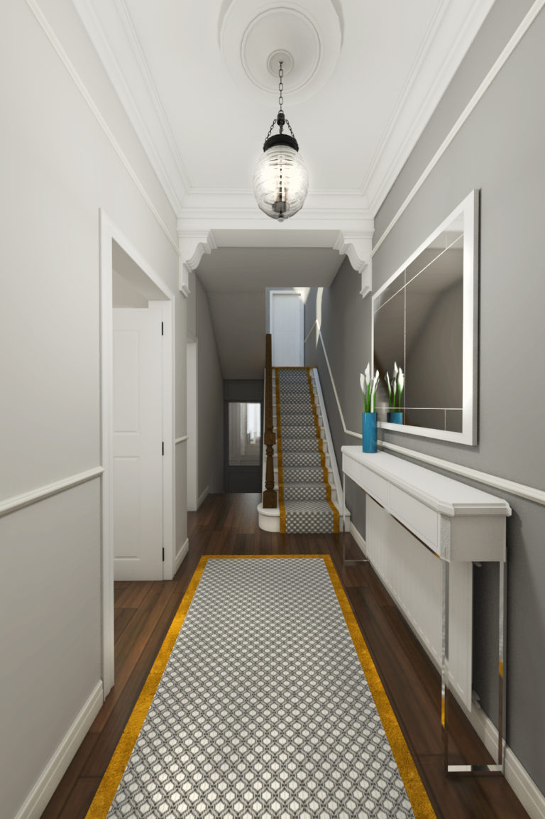 black fox interiors hallway ideas