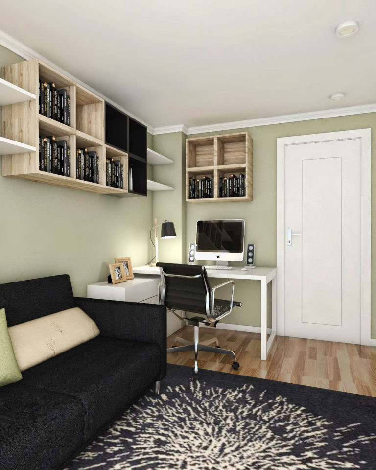 black fox interiors home office design