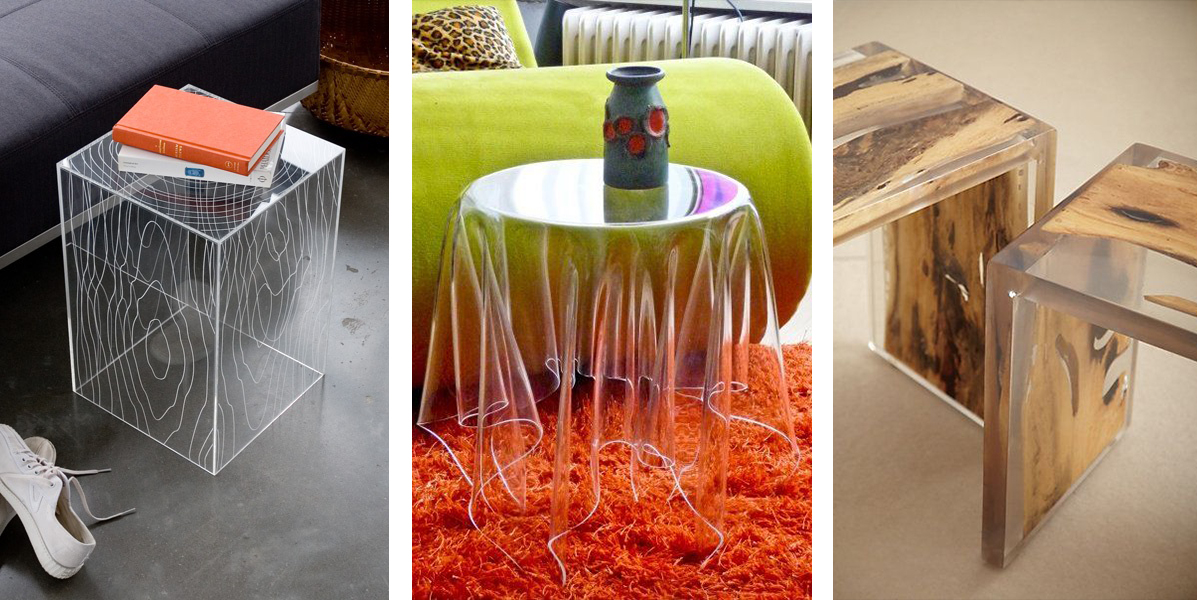 Transparent furniture design